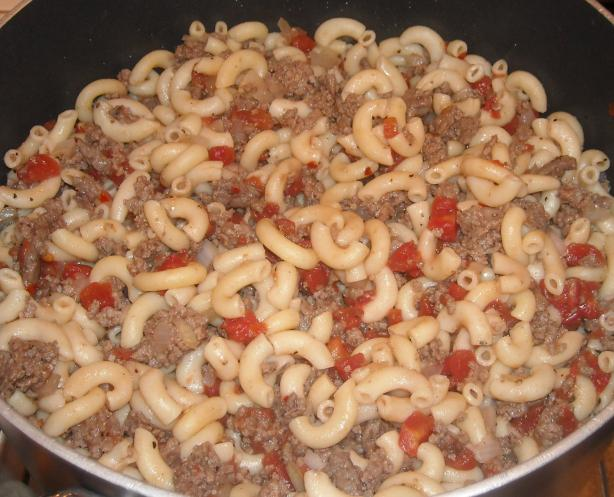 Vintage Hamburger Goulash