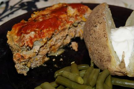 Healthy Turkey Meatloaf
