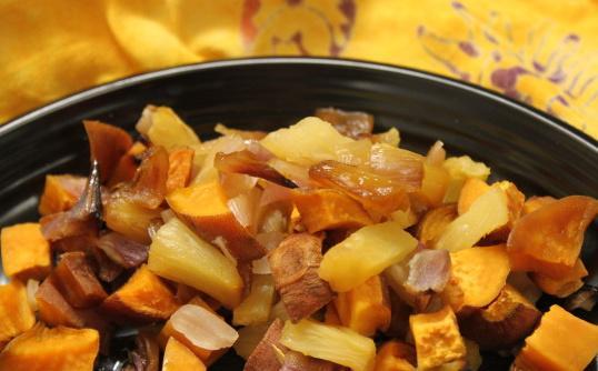 Hawaiian Sweet Potatoes