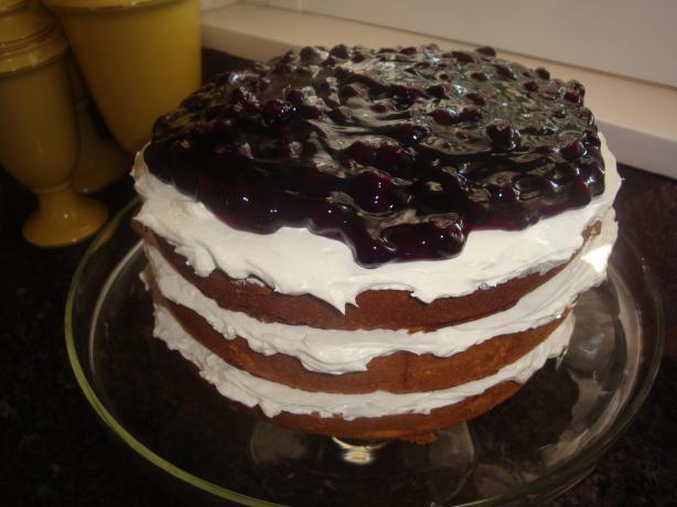 Mama Jo's Blueberry Cake