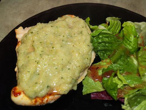 Green Gazpacho Chicken