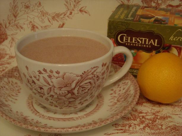 Easy Orange Creamsicle Hot Tea