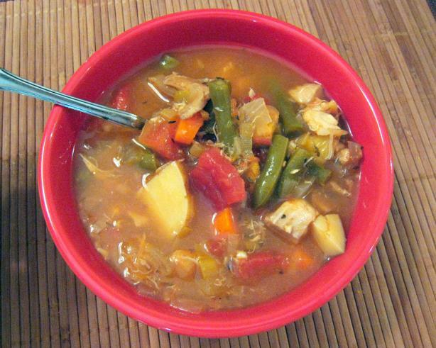 Clare's Healthy Bouillabaisse