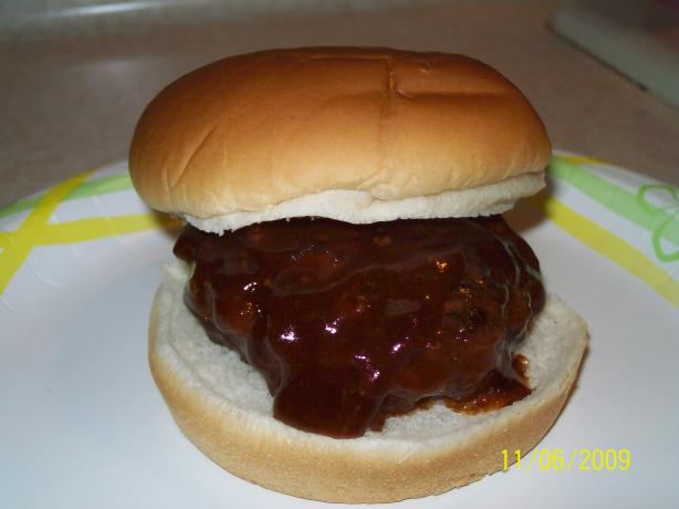Crock Pot Barbecued Hamburgers
