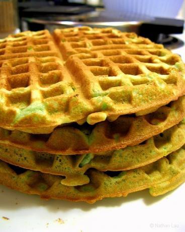 Annie's Pandan Waffle