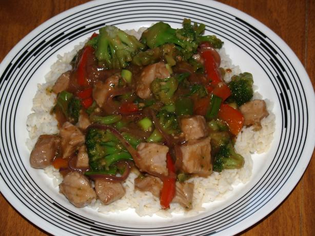 Joe's Teriyaki Pork and Broccoli Stir-Fry