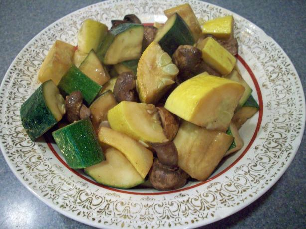 Roasted Summer Squash Bonanza