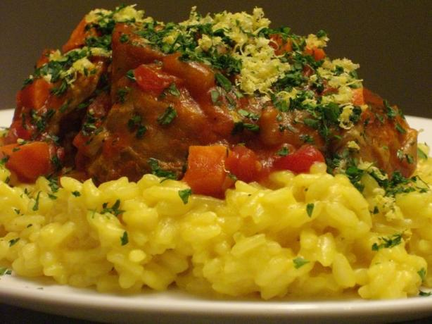 Osso Buco With Couscous