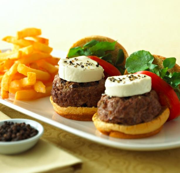 Tellicherry Peppered Chavrie Sliders