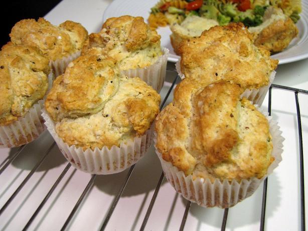 Cream Cheese Garlic Muffins