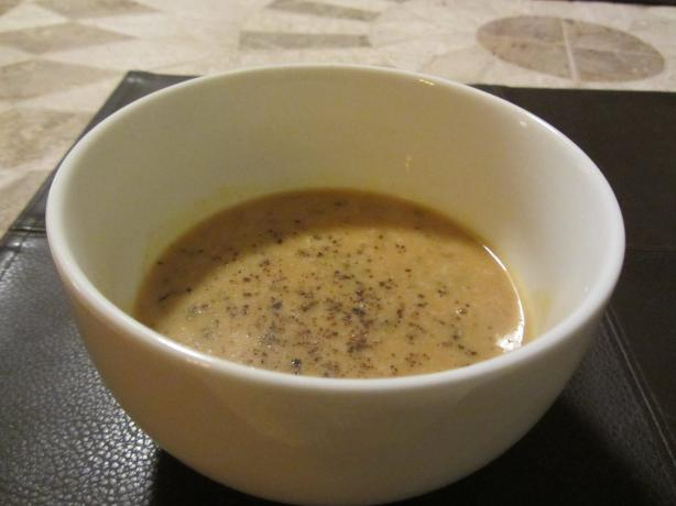 Simple Creamy Pumpkin Soup