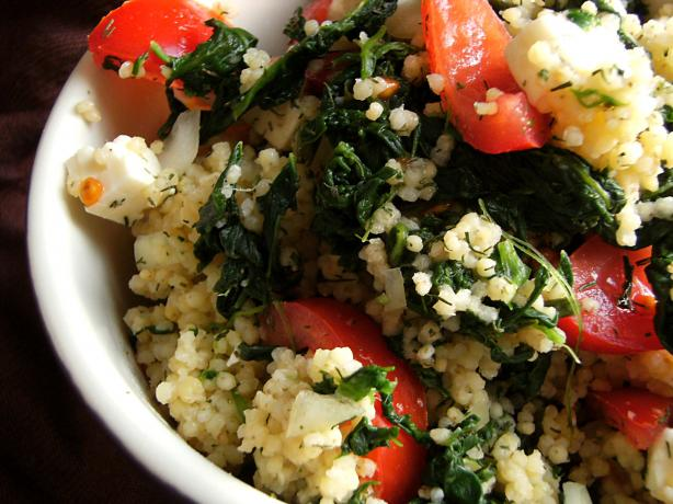Spinach and Bulgar Salad