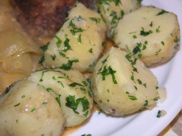 North Croatian Boiled Potato