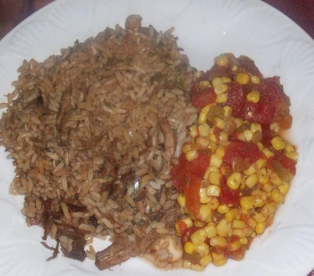 Pork Pileau
