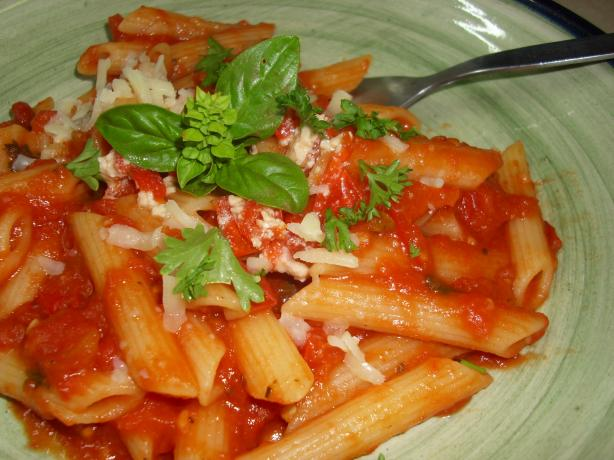 Farfalle With Tomato Herb Sauce