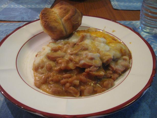 Baked Bean and Sausage Casserole