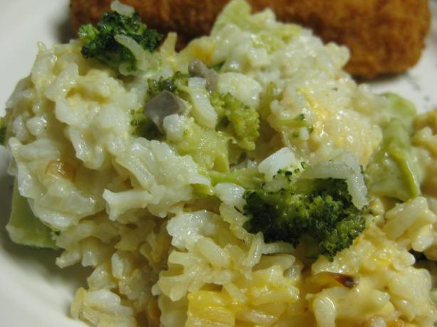 Eleanor's Broccoli & Rice Supreme