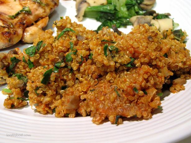 Versatile Quinoa Pilaf