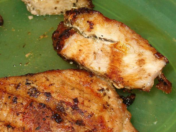 Herb and Garlic Pork Chops