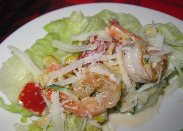 Tex Mex Shrimp and Corn Salad