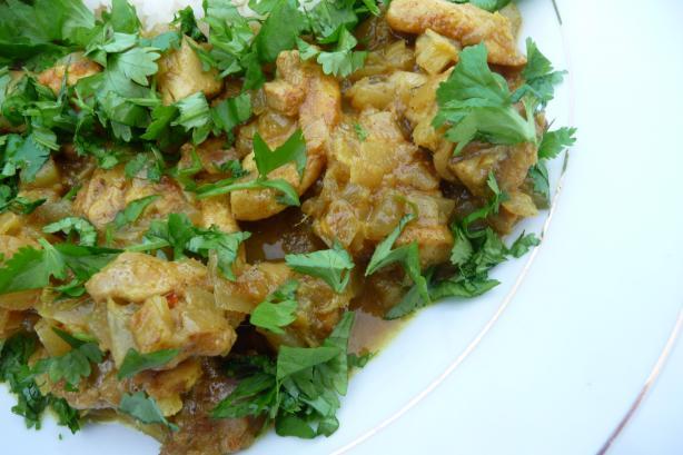 Malay Spiced Chicken Stir-Fry