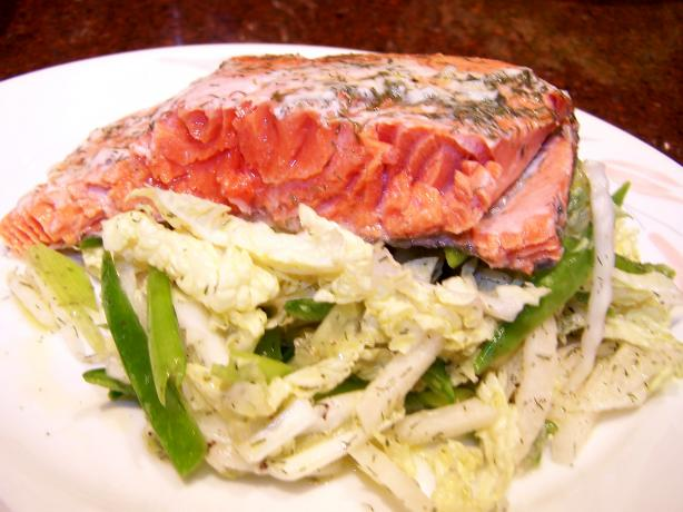 Sexy Salmon and Sassy Slaw