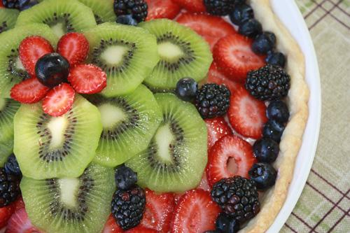 Mudberry Tart (No Bake)