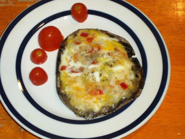Grilled Portobello Omelette