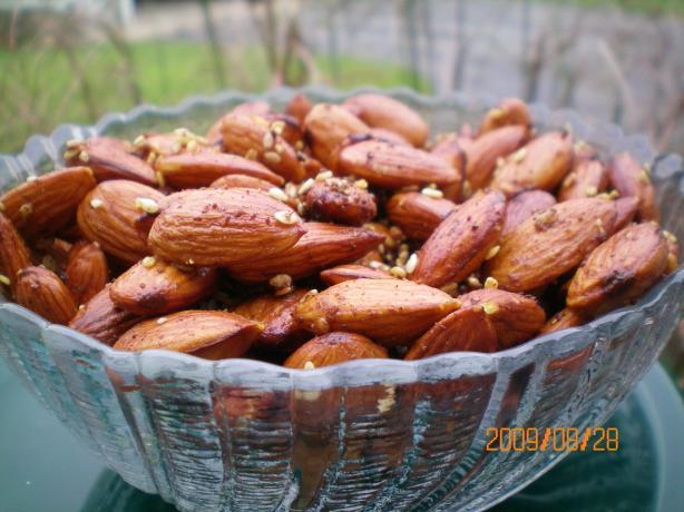 Devilled Almonds