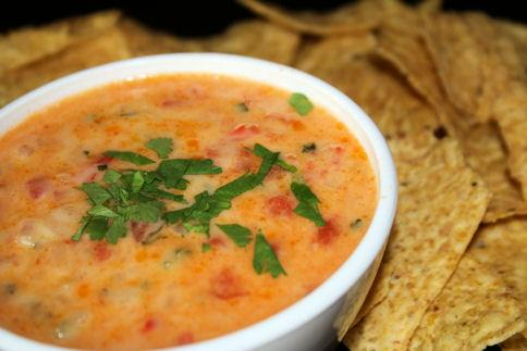 Queso Dip With Tequila by Rick Bayless