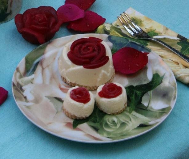 Rose Cheese Cake