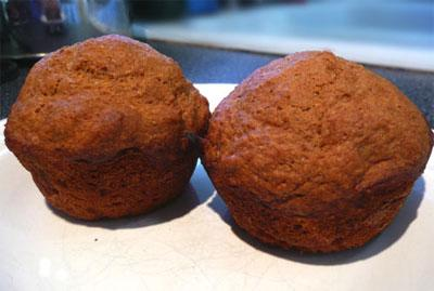 Applesauce Muffins W/ Agave Nectar