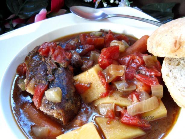 Swiss Steak Supper (Crock Pot)
