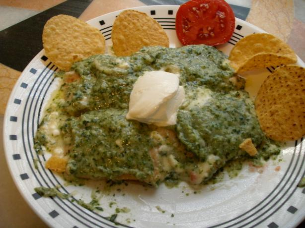 Senor Pico's Cheese Enchiladas