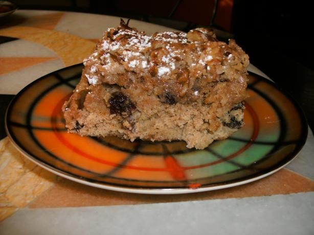 Praline Applesauce Cake