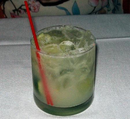 Ginger Caipirinha