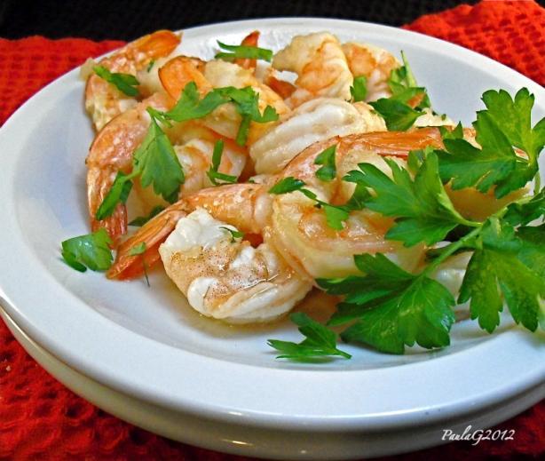 Caramelized Garlic Shrimp (Tom Rim Man)