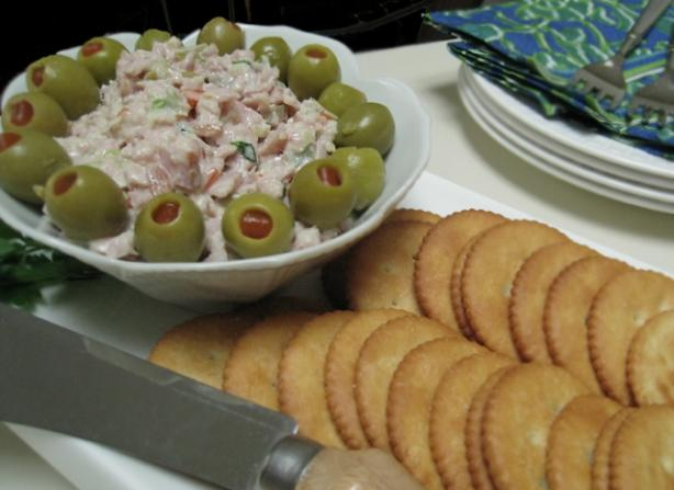 Tasty Ham-Olive Spread