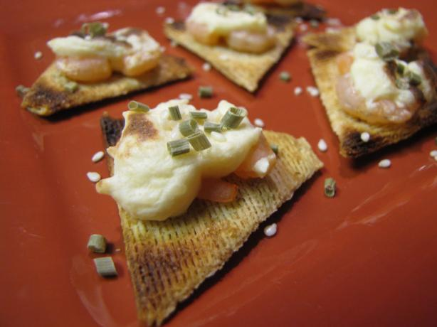 Shrimp Cheese Broil