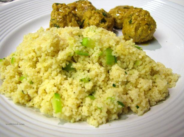 Couscous With Yellow Summer Squash
