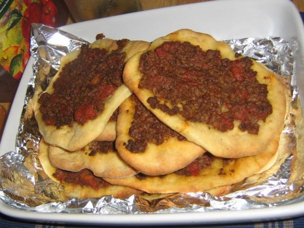 Lahma Bajeen - Meat Pies