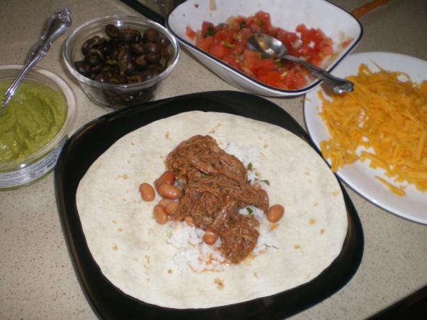 Copycat Qdoba Shredded Beef