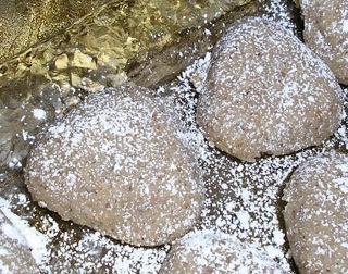 Turkish Sand Cookies (Curabies)