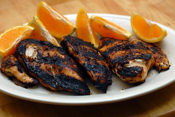 Grilled Chipotle Orange Chicken