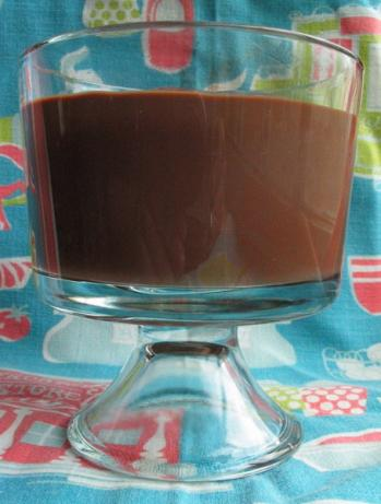 Stove Top Chocolate Pudding