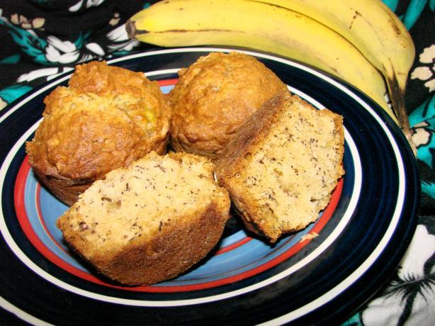 Gramma's Banana Bread Muffins
