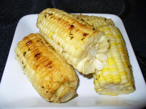 Garlic Buttered BBQ Corn