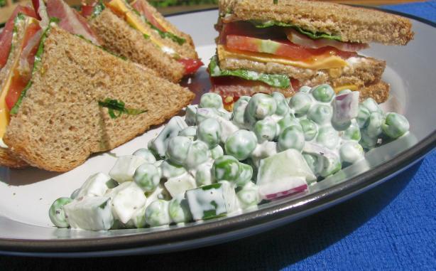 Wes' Super Awesome Pea Salad