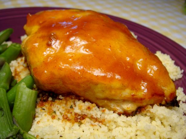 Curried Chicken With Chutney and Couscous