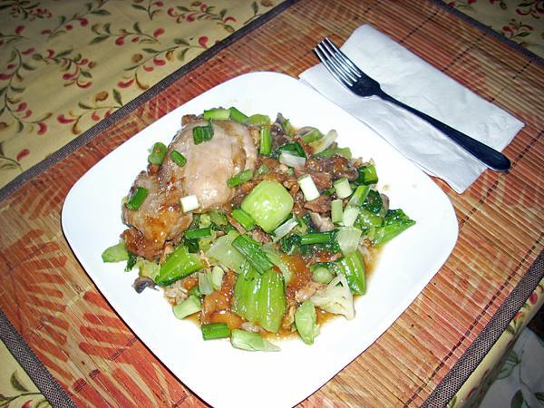 Delicious Moo Goo Gai Pan